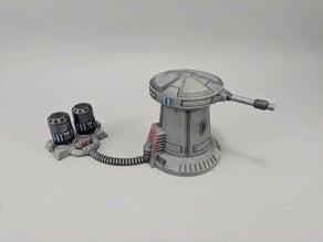 Sci-fi Anti-Speeder Turret