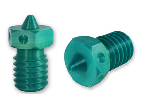 100%  printable E3D V6 Nozzle 1.75 x 0.4mm