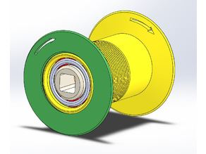 Evolutionary spool Holder