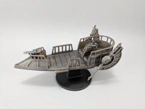 Sci-fi Pirate Skiff