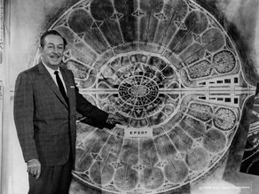 Walt's Original Plan For EPCOT (Center Hub)