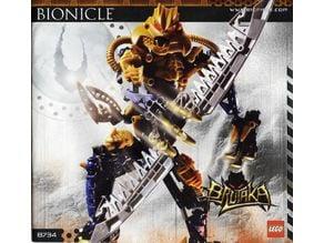 bionicle brutaka sword