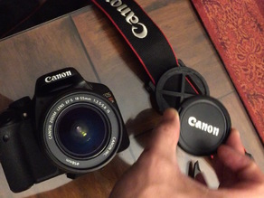 Canon EOS 58mm Lens Cap holder