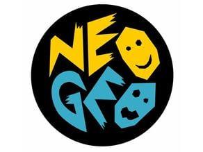 NeoGeo Logo keychain