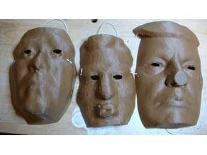 Life Size POTUS Masks