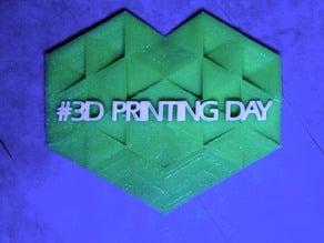 3D Printing Day (3D Hubs Logo)