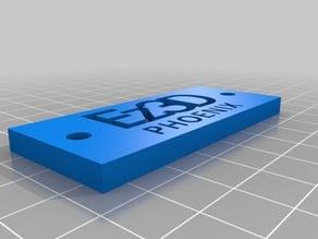 Ez3D Phoenix Nameplate