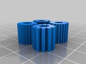 Extruder shaft pulley Nema 17