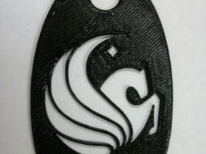 UCF Logo keychain