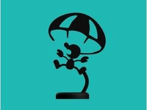 Mr. Game & Watch - Parachute