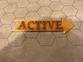Active Player Marker