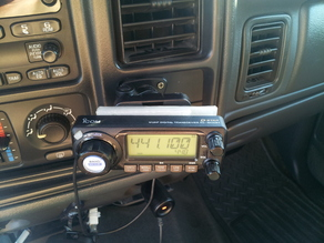 ICOM ID-800H Tuning Head Baseplate Mount