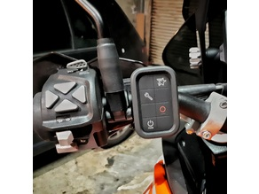 GoPro remote handlebar mount