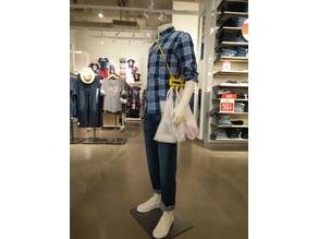Courier Bag Holder