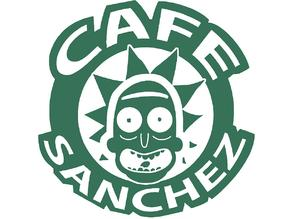 Rick and Morty - Cafe Sanchez logo