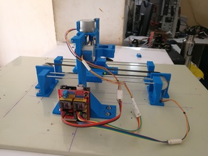 English and Spanish Mini CNC Plotter With CNC SHIELD, Arduino and Step motor 28BYJ-28