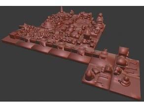 A tiny modular city