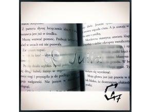 Bookmark - Flower - Julia