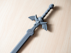 "Master Sword - 10"" Desk Weapon"