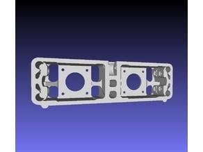 Remix face arrière pour double moteurs d'extrusions