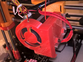fan duct for CTC Prusa i3 pro B