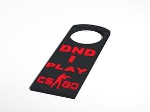 CS GO Door Hanger (DND)