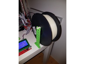 Minimal Filament Spool Holder