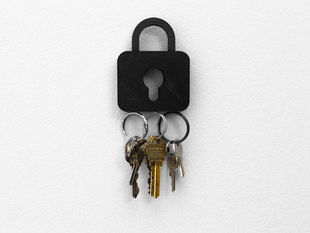 Lock Pad Key Rack