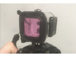 GoPro Session Waterproof Case Len Cover