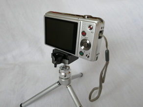 Mini Quick Release System For Compact Cameras