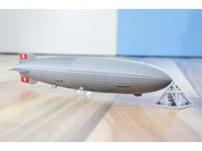LZ-129 Hindenburg - scale 1/1000