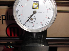 Powerfist (Princess Auto) Deflection (Dial) Gauge Holder