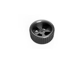 3-6V DC Motor Wheel