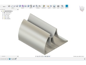 Phone Stand, Fully parametric, Fusion 360 files included