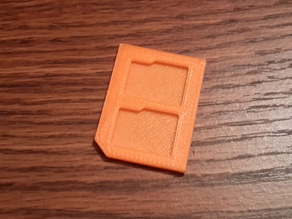 microSD to SD card case adapter