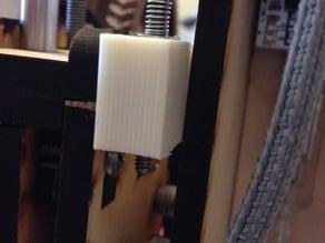 Makerfarm Prusa i3 z-axis end-stop adjuster
