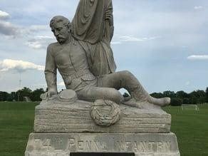 74th Pennsylvania Infantry Monument - Gettysburg, Pennsylvania