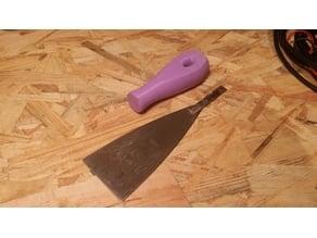 Scraper handle
