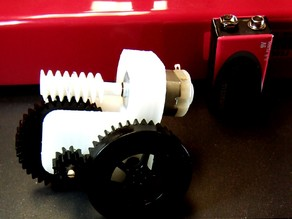 Worm and Wheel Gears and Gear Box