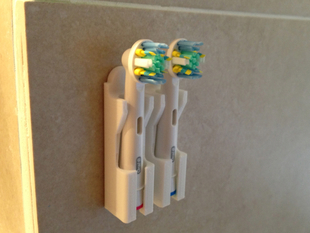 Toothbrush Throne