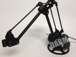 3d print desktop robot arm(DARM)