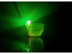 Rechargeable LED Star Planter