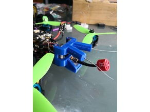 Rear support all in one Wizard x220s (dual antenna,gps and antenna vtx)