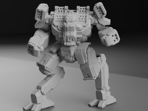 ARW-Prime Arctic Wolf for Battletech