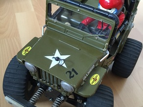 Wild Willy RC Tamiya - Front replacement part