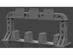 Gaslands Toll Booth