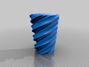 Maltese Twist Vase