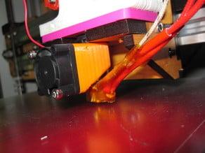 Customizable Mini Hotend Fan Duct (Makerfarm i3/i3v compatible)