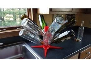 Wine Bottle Dryer Rack Dowel V3