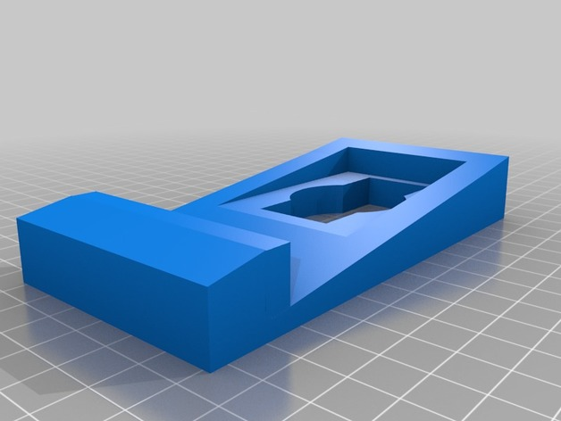 Ring Doorbell Siding Wedge Mount By Parmark Thingiverse